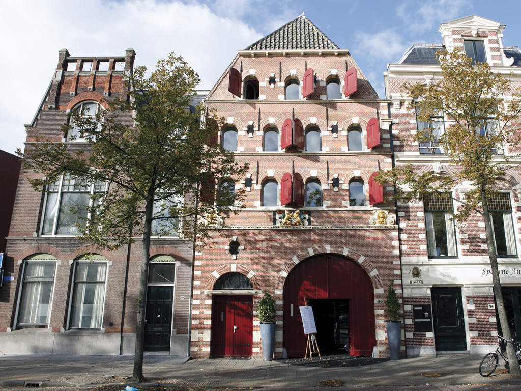 Stadsbrouwerij 'De Climmende Leeuwen' te Haarlem